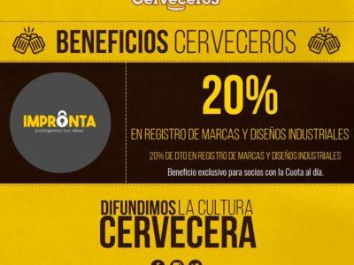 Beneficios para socios de SOMOS CERVECEROS.